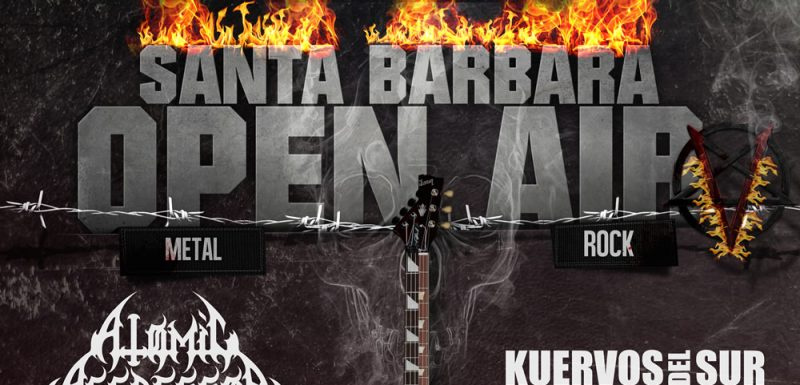 Afiche - Santa Barbara Open Air V