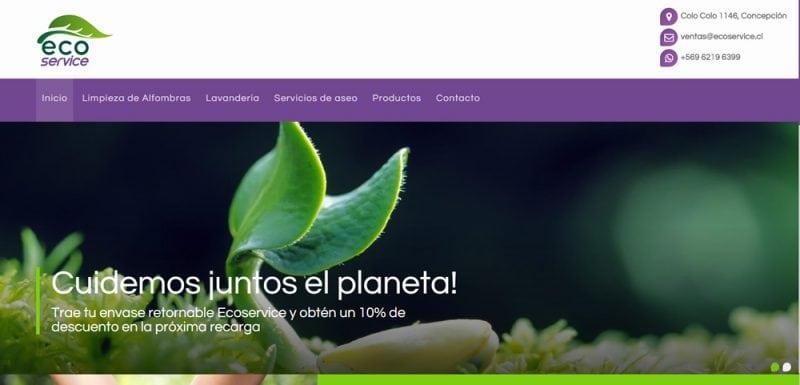 Sitio Web - Ecoservice