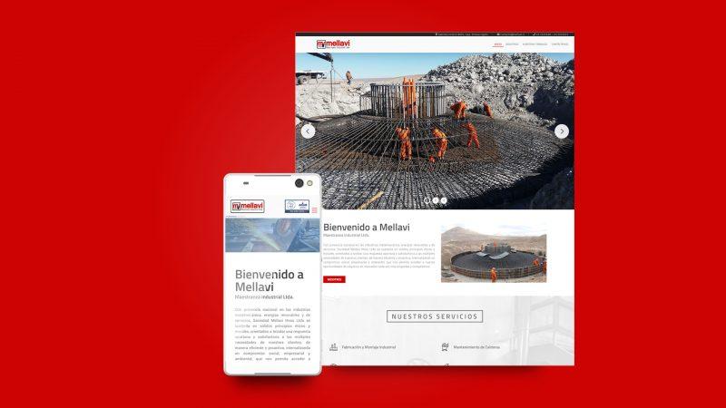 Sitio web Mellavi.cl